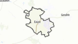 Карта / Eauze