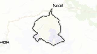 Карта / Cravencères