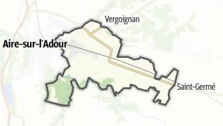 Карта / Barcelonne-du-Gers