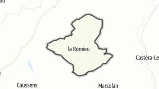 Карта / La Romieu