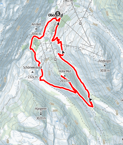 Map / Gletscher Trailrun 10 km
