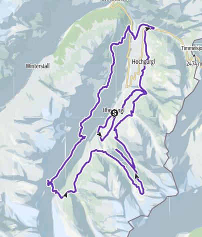Map / Gletscher Ultra Trail