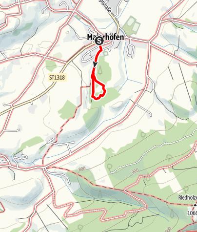 Karte / Wald-Sinne-AktivPfad