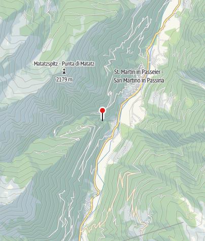 Cartina / Cascata Passiria a S. Martino