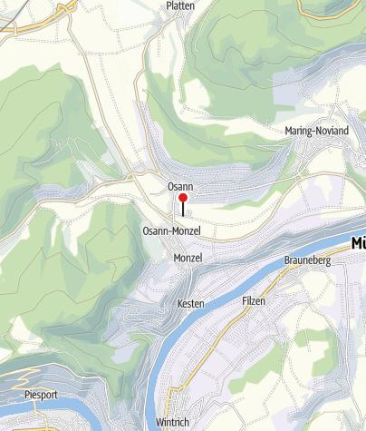 Karte / Moselsteig-Wünschelrouten 2018: Vom Moselsteig ins Oestelbachtal