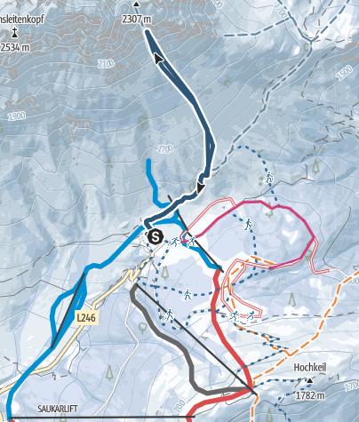 Map / Die Mandlwand - EIN SCHÖNER FLECK ERDE.