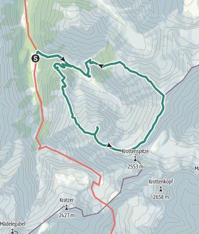 Karte / Über den Fürschießer