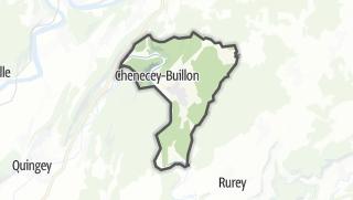 Térkép / Chenecey-Buillon
