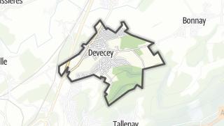 Mapa / Devecey