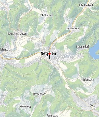 Karte / Touristinformation Netphen