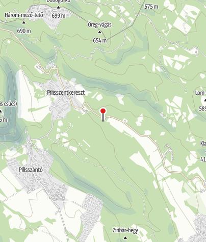 Térkép / Dera-szurdok