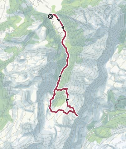 Karte / Sihlseeli