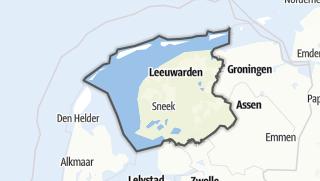 Karte / Friesland