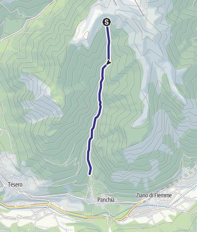 Karte / Rio Bianco G