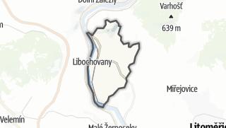 מפה / Libochovany