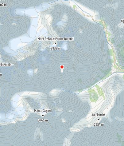 Karte / Refuge du Pelvoux