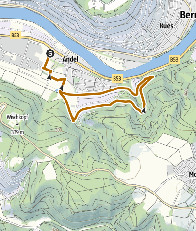 "Karte / Raiffeisenbank"" - Nordic Walking Route"