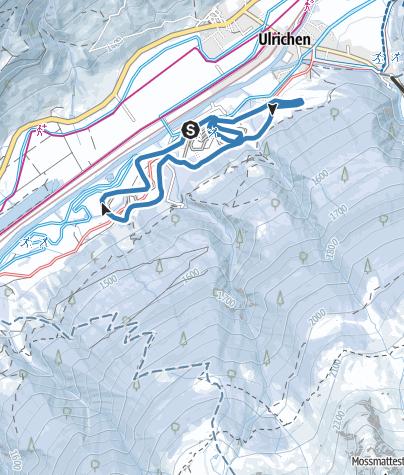 Karte / FIS / Rennloipe