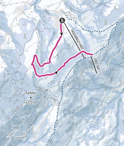 Karte / Heiligkreuz - Reistegg - First