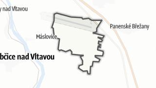 מפה / Vodochody