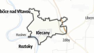 מפה / Klecany