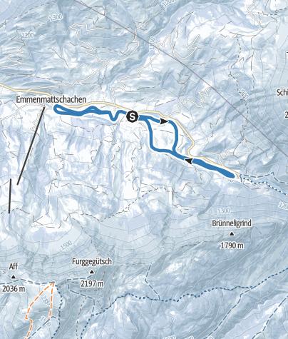 Karte / Loipe Bumbach