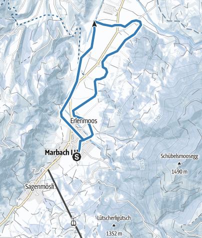 Carte / Rundloipe Camping-Marbach