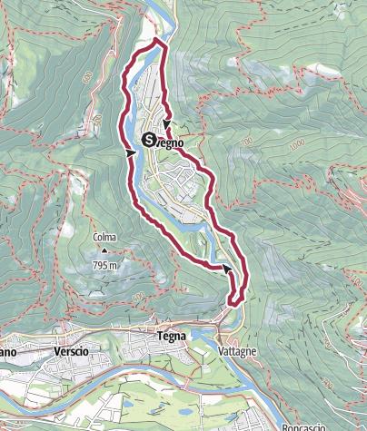 Map / Avegno-Ponte Brolla-Avegno