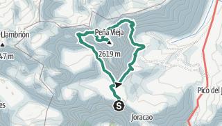 Mapa / Peña Vieja