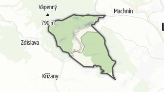 Karte / Kryštofovo Údolí