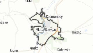 מפה / Mladá Boleslav