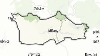 Karte / Křižany