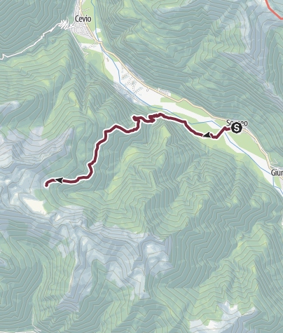 Map / Stage 1: Someo-Capanna Alzasca