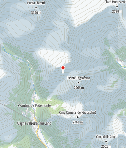 Map / Rifugio al Ferioli