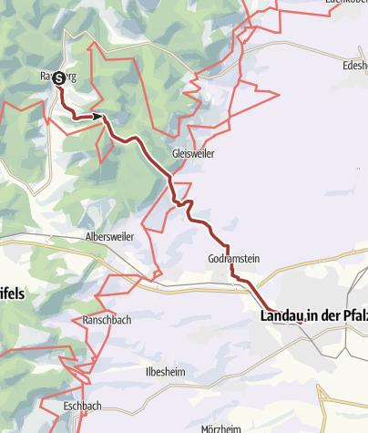 Karte / Marktweg