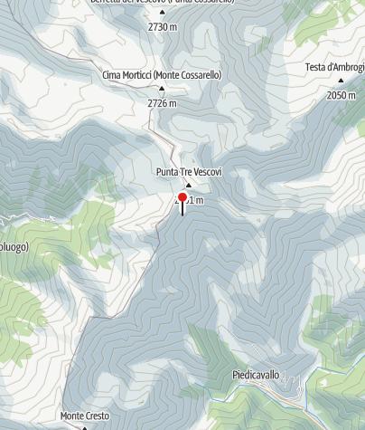 Karte / Rifugio Alfredo Rivetti