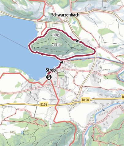 Map / Bürgl Panoramaweg