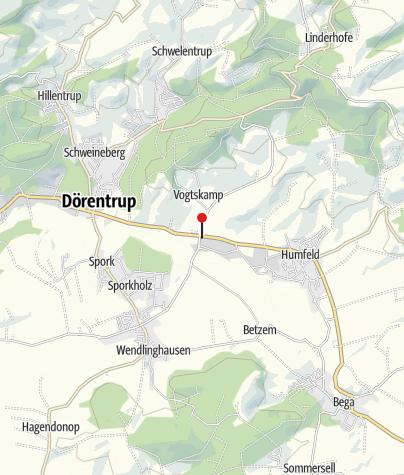 Karte / Landhaus Begatal