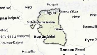 Karte / Oltenia