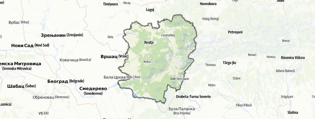 Kart / Terrengsykkel i County Caraș-Severin