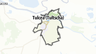 地图 / Tulcea