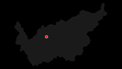 Karte / Von Sion an der Bisse de Clavau nach Crans-Montana