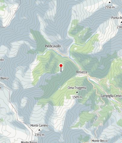 Karte / Rifugio Madonna della Neve