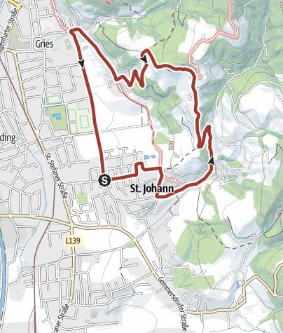 Karte / Wolfsberg - Weinlehrpfad