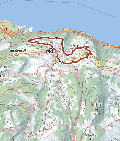 Map / DenkWeg Glarus Nord
