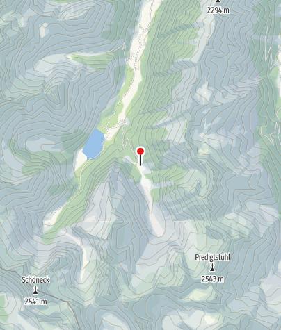 Karte / Vord. Neualm 1410m