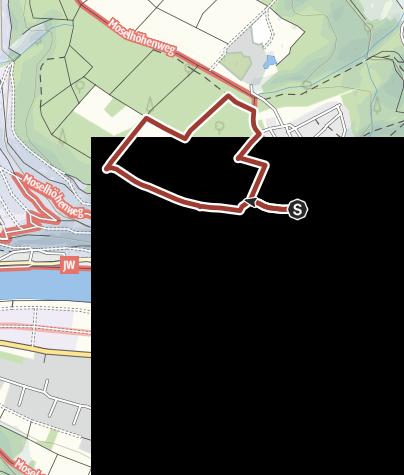 Karte / Walderlebnispfad Lieser