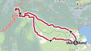 Circular Trail from Ukanc to Savica Waterfall