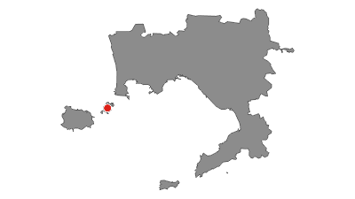 Karte / Inselhopping in der Bucht von Neapel