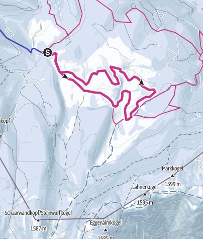 Karte / Winterwanderweg Panorama